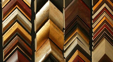Rick\'s Frame & Art - Custom Framing - Moulding